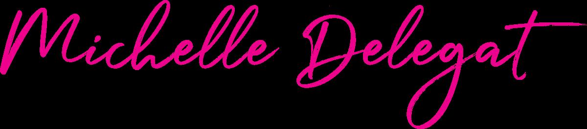 Michelle Delegate Signature Logo Pink
